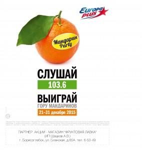 Мандарин Пати_Борисоглебск